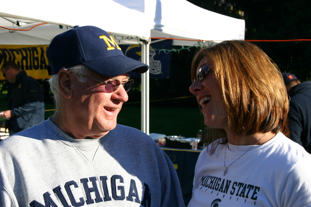 October 7, 2006: A House Divided, Michigan 31 - Michigan State 13