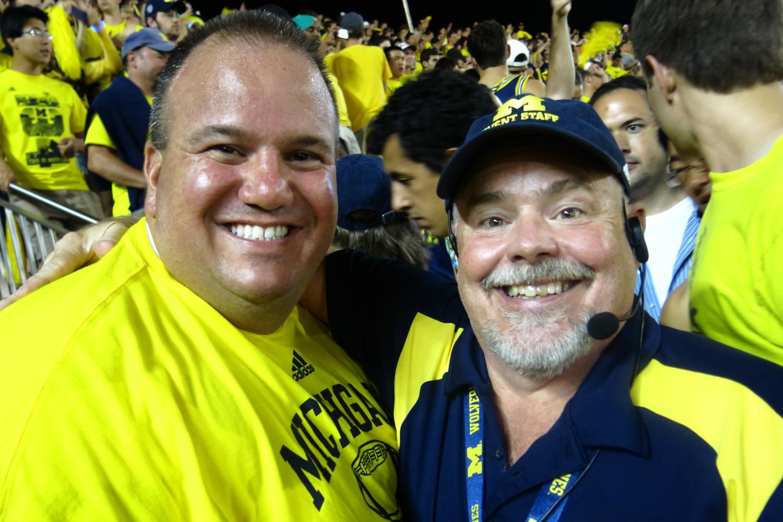 9/7/13 Michigan 41-ND 30:  We're always happy when we win.