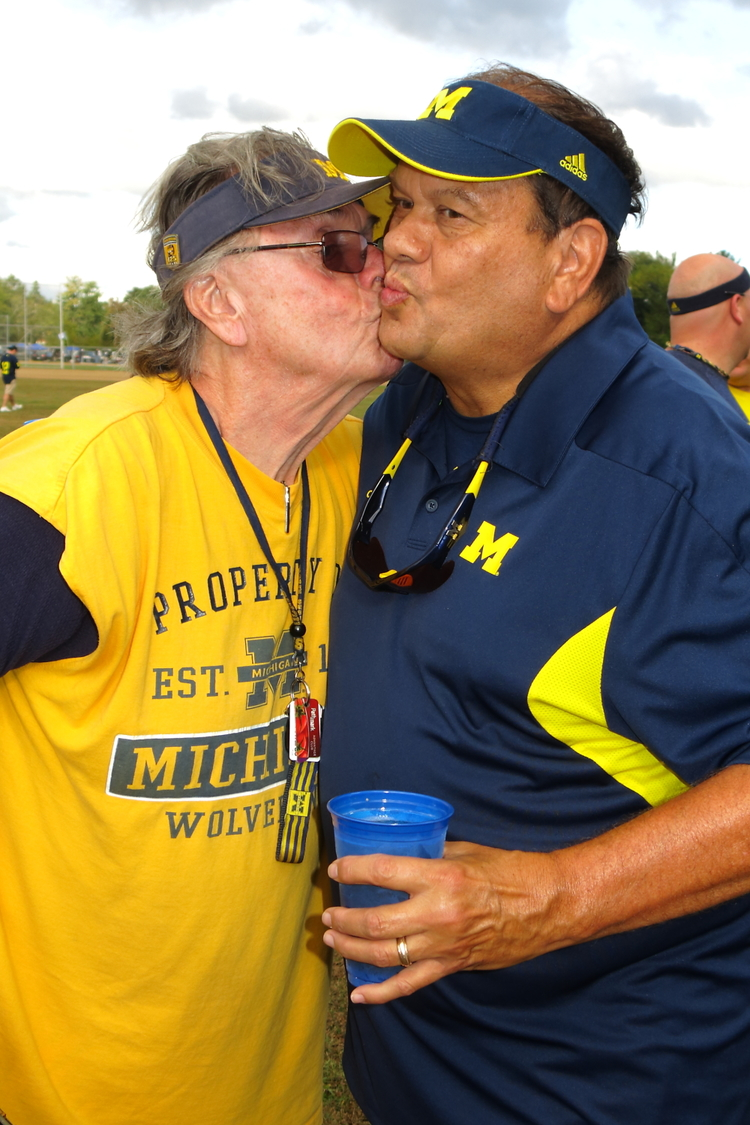 9/21/13 Michigan 24-UCONN 21  : Old man love is beautiful in Connecticut.