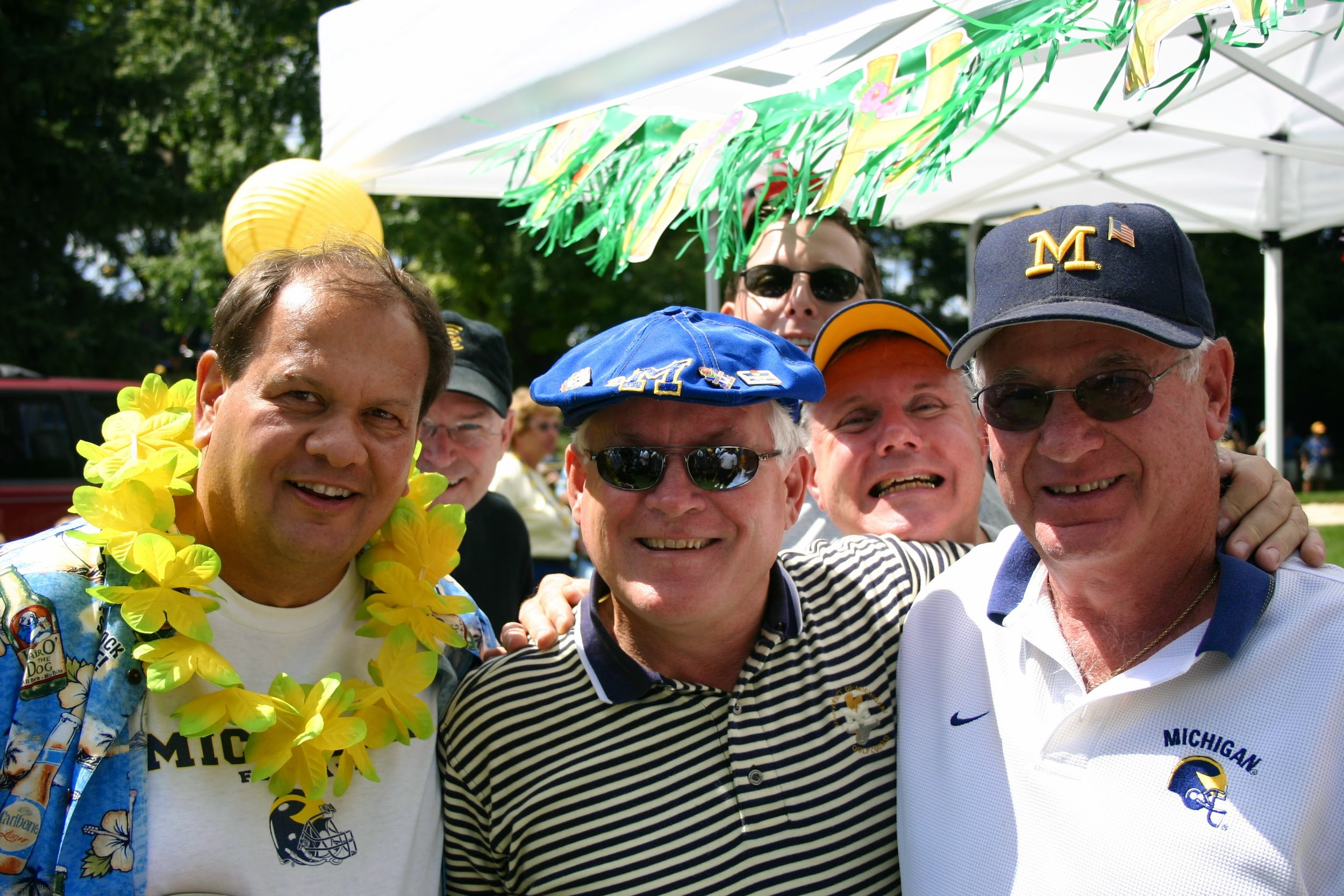September 3, 2005:  A Luau tailgate before Michigan thrashes Northern Illinois 33-17.  More pictures and a recap  here.