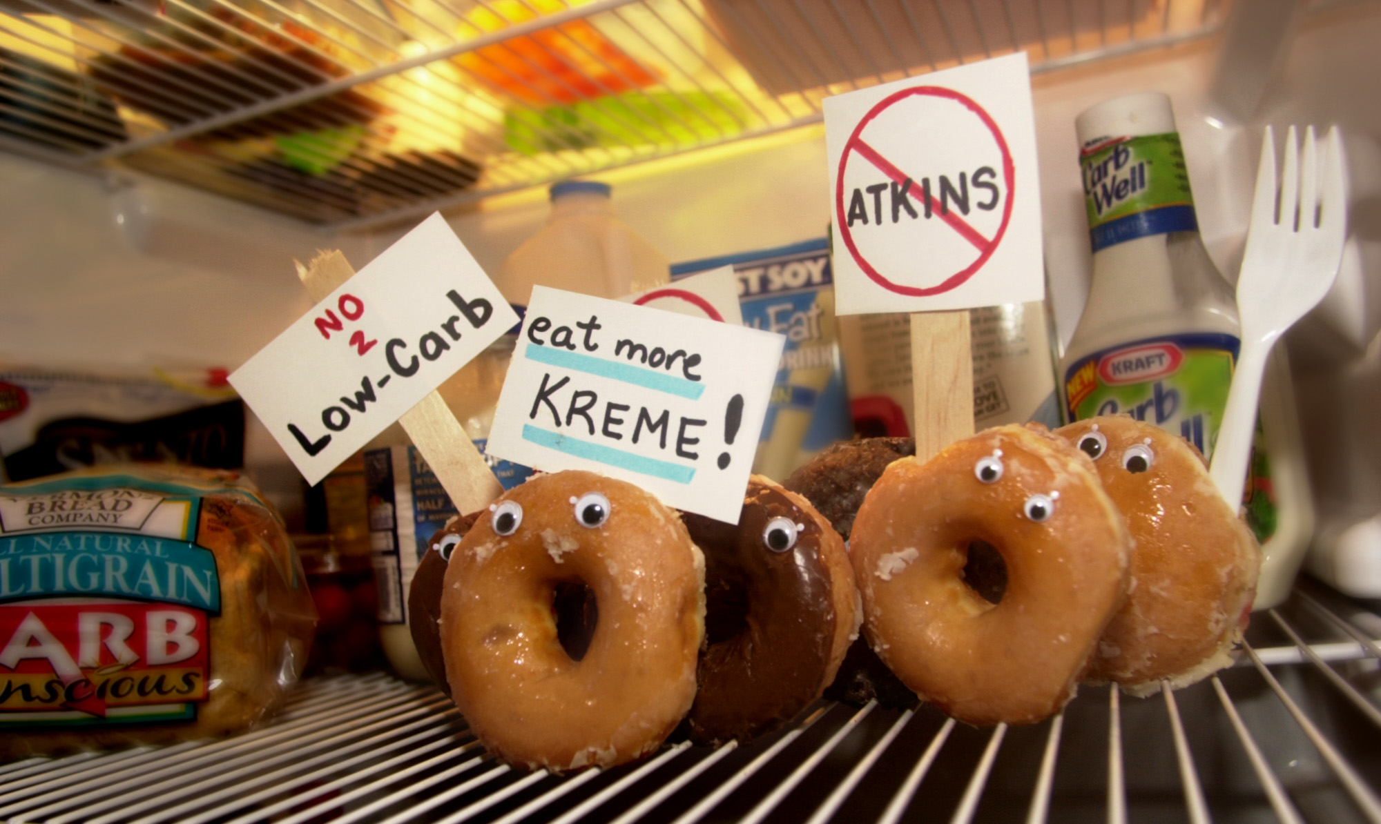 The Krispy Kreme protest