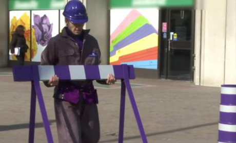 CADBURY  Purple Construction -  watch
