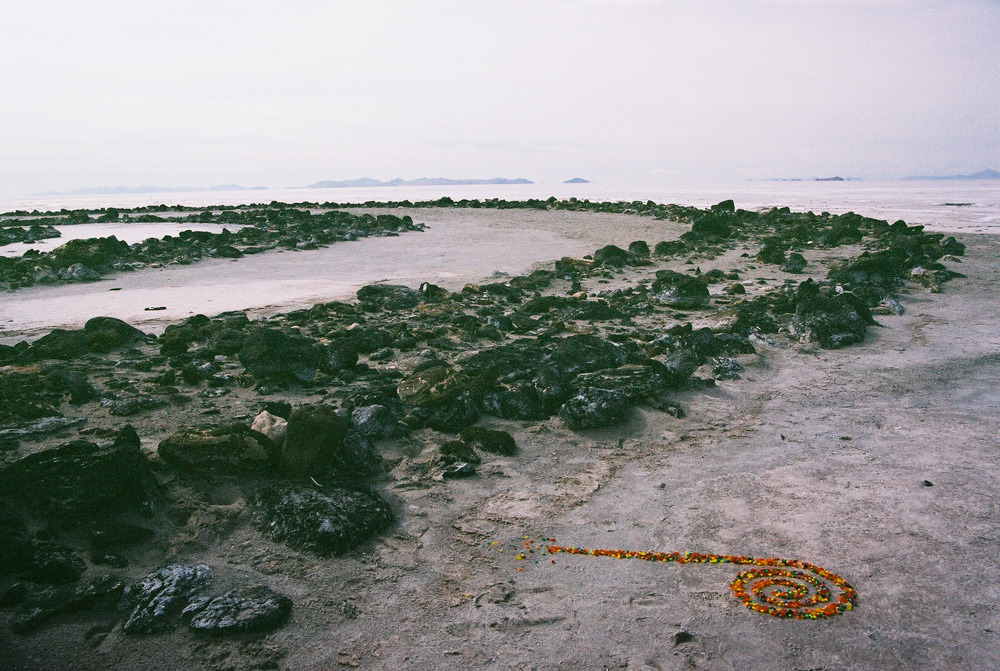 Spiral Jetty with Candy Sprial Jetty