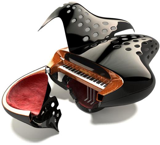 Bauhaus Piano Asymptote Architecture
