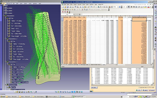Strata Tower CATIA Model