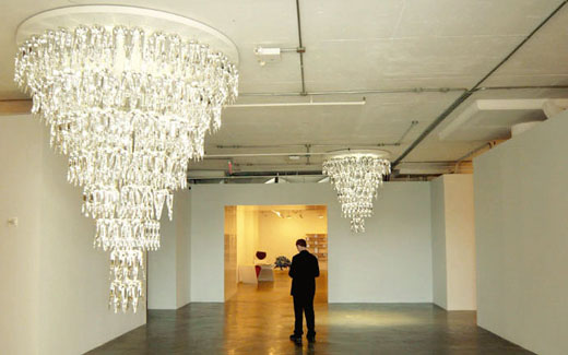 LQ Chandelier at Phillips De Pury