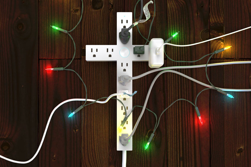 Higher Power with Christmas Lights