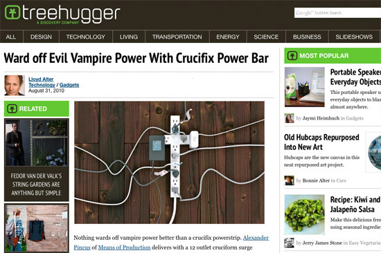 Higher Power »  Tree Hugger