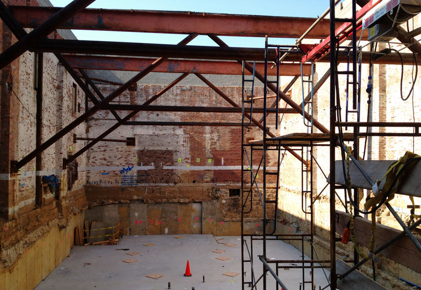 OMW construction progress