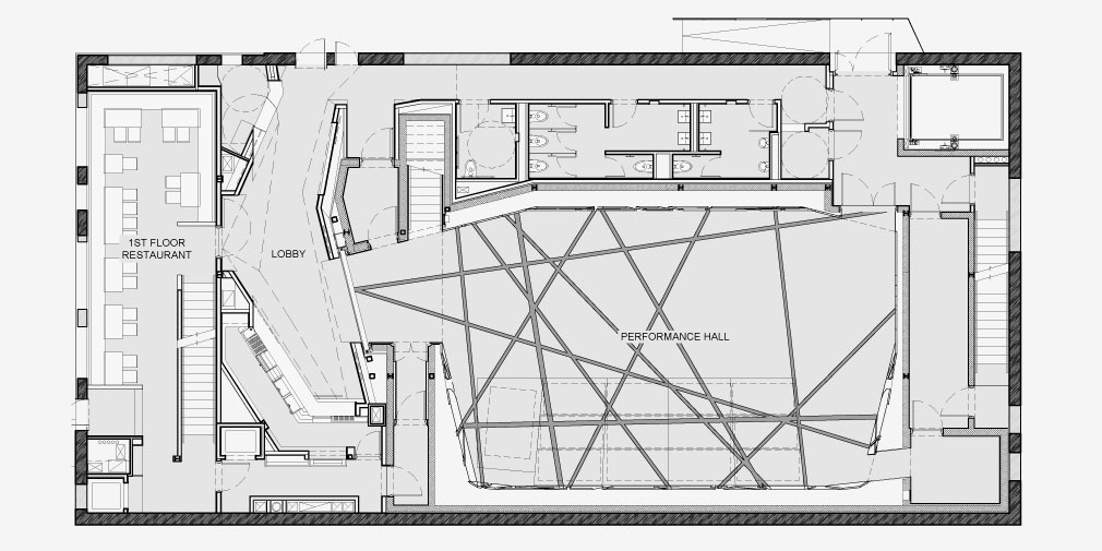 Original Music Workshop » Ground Floor Plan