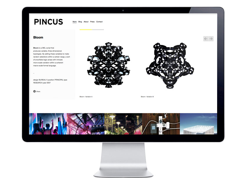 pinc.us 2013 website