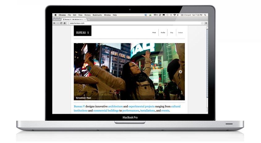 Bureau V Website 2011