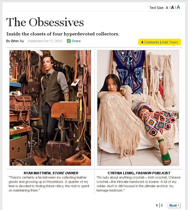 Cynthia Leung in New York Magazine