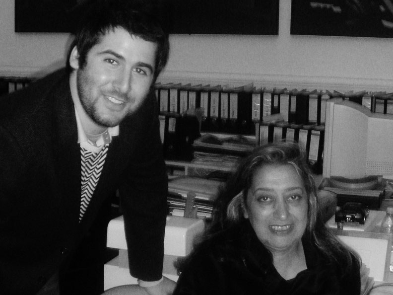 Zaha Hadid and Alexander Pincus