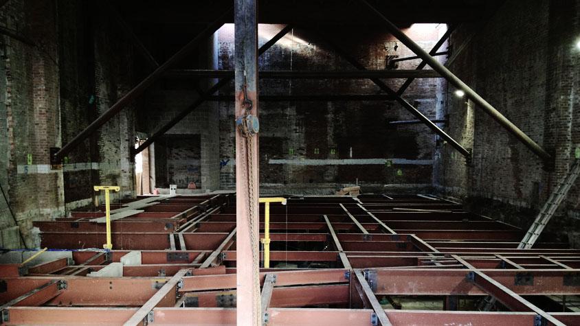 Original Music Workshop First Floor Steelwork