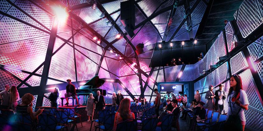 Original Music Workshop Interior