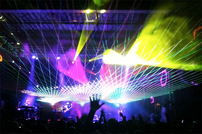 Camp Bisco Laser Show