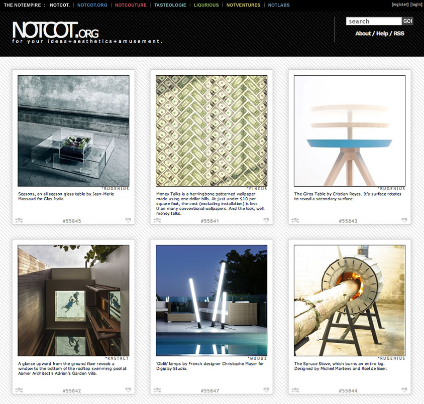 Money Talks Wallpaper featured on NOTCOT