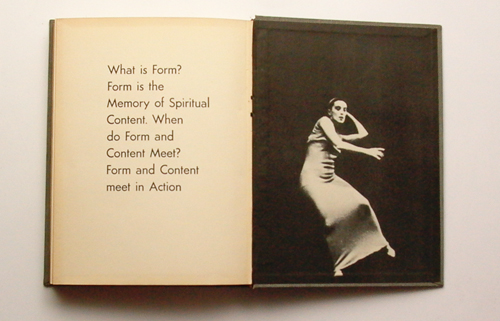 Martha Graham What is Form