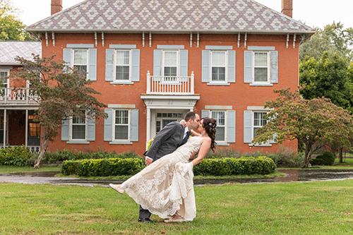 """""""We had one problem with our photos, there are absolutely way too many great pictures to choose from. Kevin also did our engagement pics and we loved them also. Kevin is great to work with and I would highly recommend him. He also gets your pictures back to you pretty quickly. I had mine like 9 days after my wedding.""""  Caitlin Z."""
