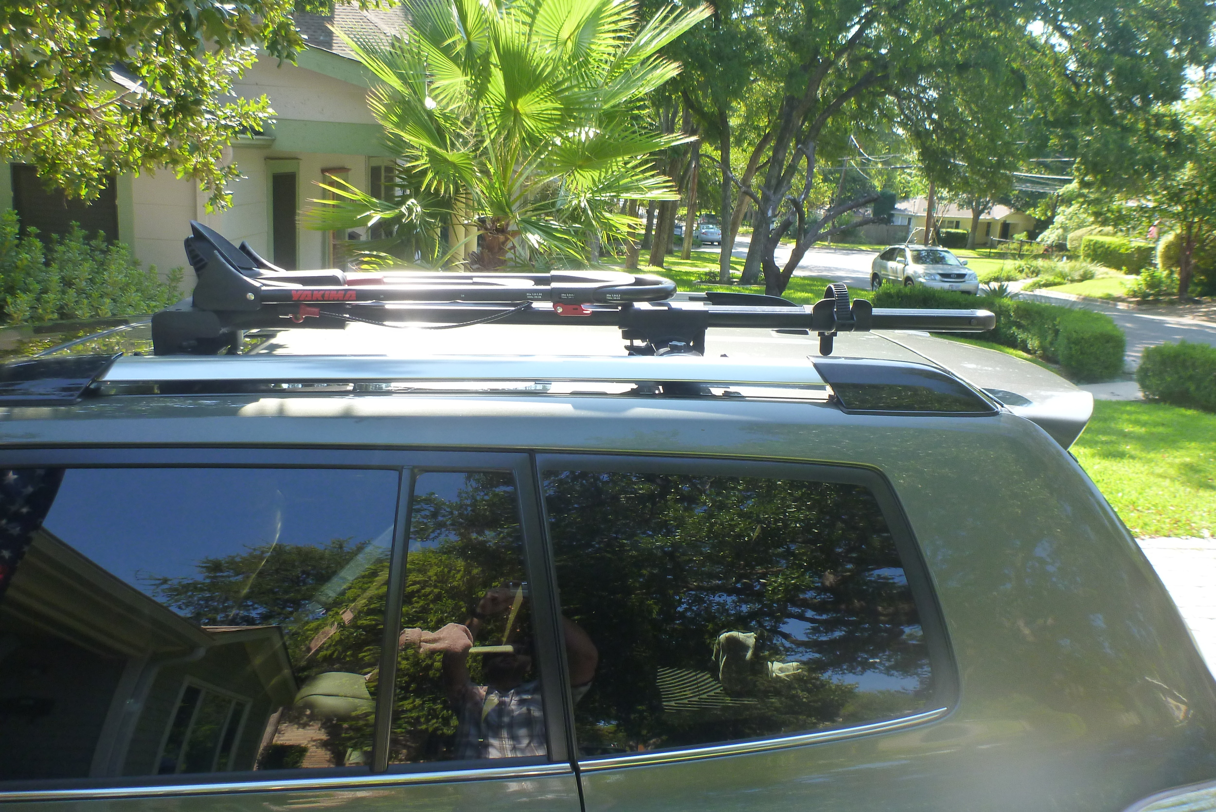 Yakima Frontloader on Toyota Highlander