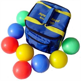 Playaboule V3 Lighted Bocce Ball Set DELUXE Glow (LED) 107mm $84.85