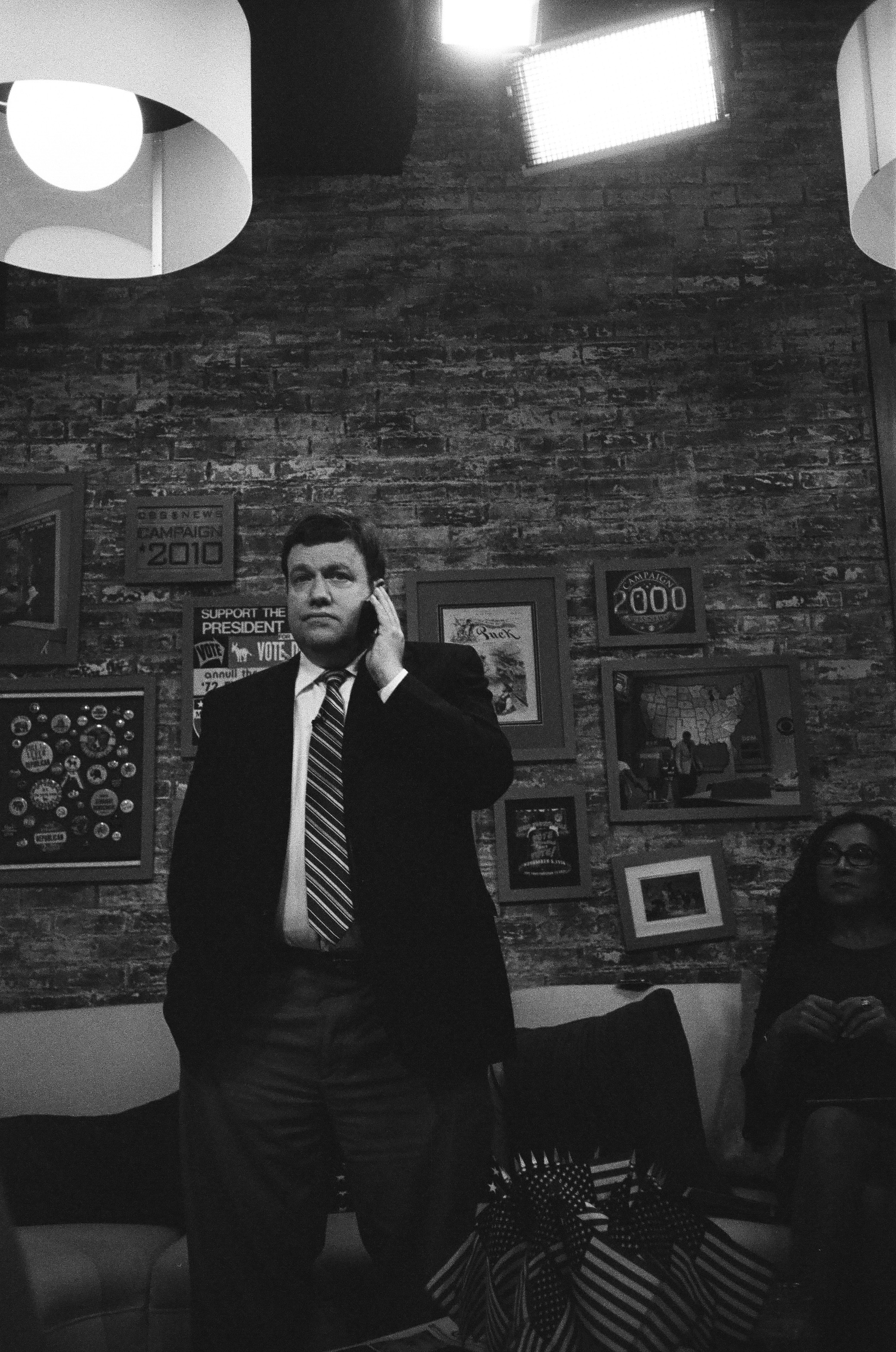 Frank Luntz, on the phone.