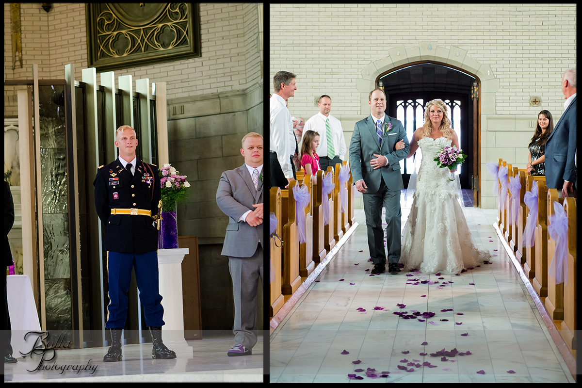 005-provincial_house_chapel-church-saint_louis-mo-wedding-bride-groom-ceremony-procession-aisle-father-purple-rose-petals-military-uniform.jpg