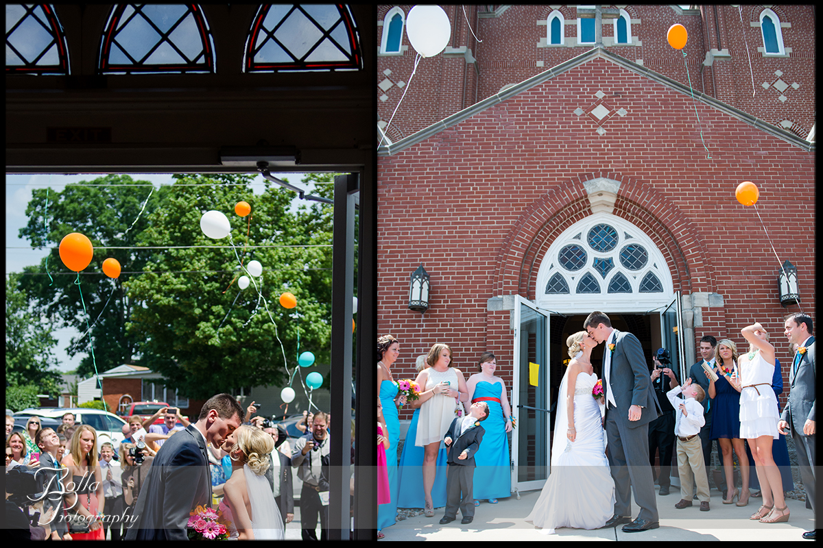 012_Bolla_Photography-wedding-church-Catholic-ceremony-bride-groom-exit-kiss-balloons-Albers-Gerstner.jpg