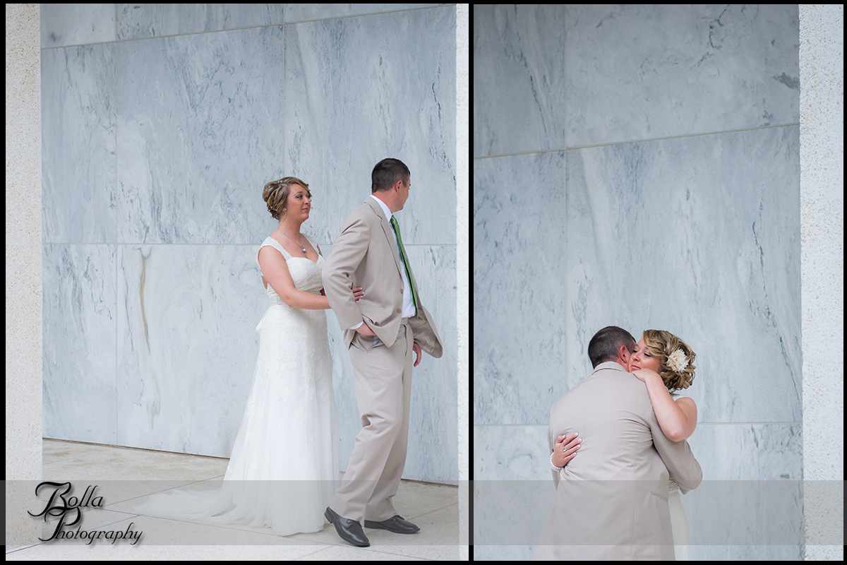 005_Bolla_Photography-wedding-portraits-bride-groom-couple-hug-first_look-marble-museum-Mt_Vernon-Wilson.jpg