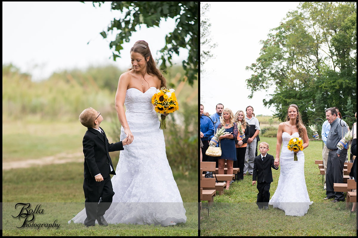 008_Bolla_Photography-outdoor-wedding-fall-ceremony-bride-son-procession-sunflowers-Mills_Apple_Farm-Marine-Collinsville-Caseyville-Carlton.jpg