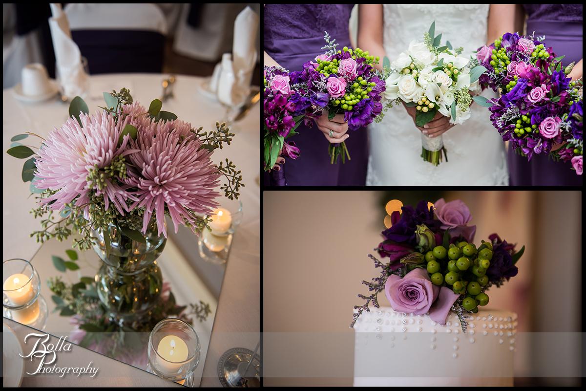 016-Bolla-Photography-wedding-Belleville-IL-reception-centerpiece-flowers-bouquet-cake-purple-green-Wilson.jpg
