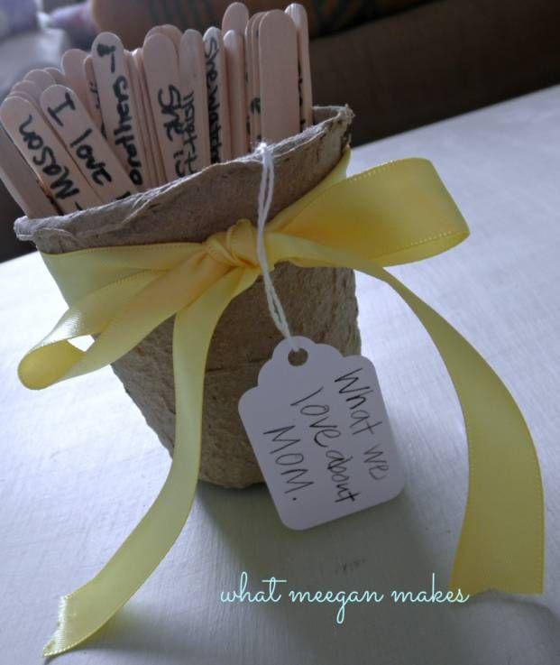 Des Idees Cadeaux Faits Maison Pour La Fete Des Meres Et La Fete Des Peres Je Suis Une Maman