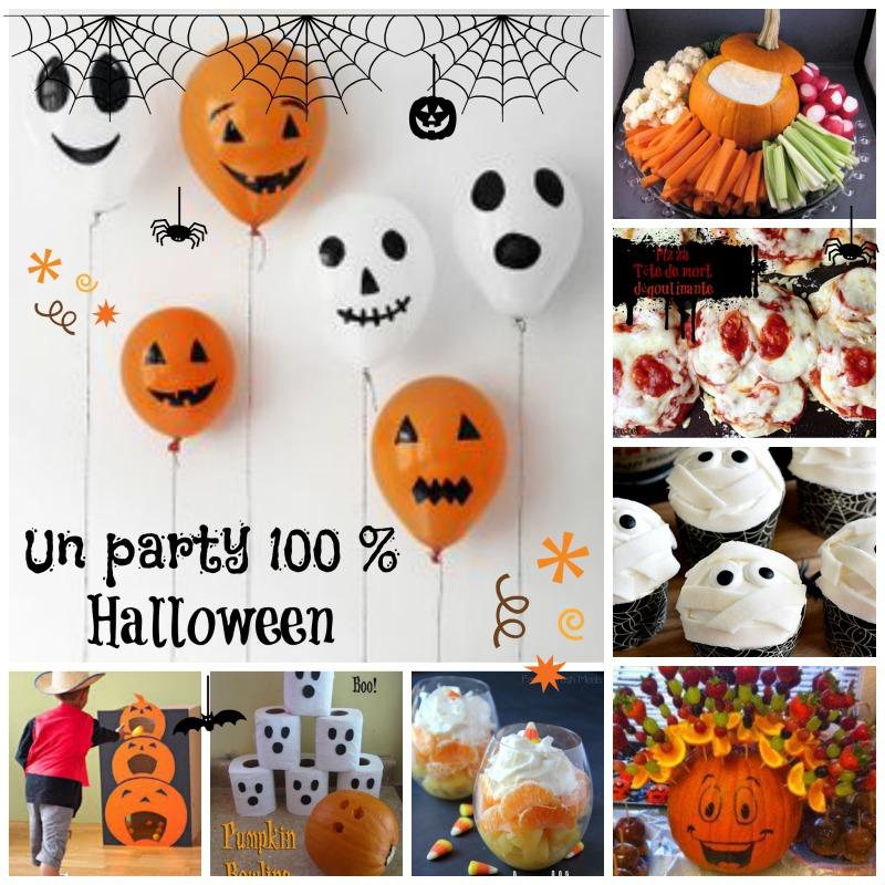 La Fete Halloween.Un Party 100 Halloween Déco Bouffe Et Jeux Je Suis Une Maman