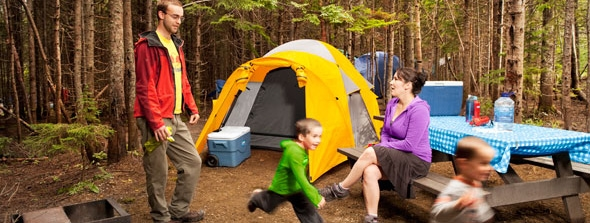 Crédit photo : Camping Forillon