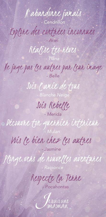 Dix Citations Vraies Et Inspirantes De Princesses Je Suis Une Maman