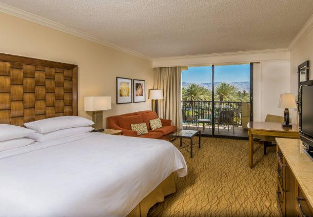 Crédit photo : JW Marriott Desert Springs Une chambre typique