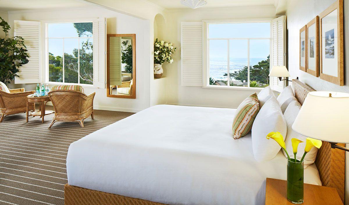 Crédit photo : La Playa Carmel-by-the-Sea La vue de notre chambre était magnifique.