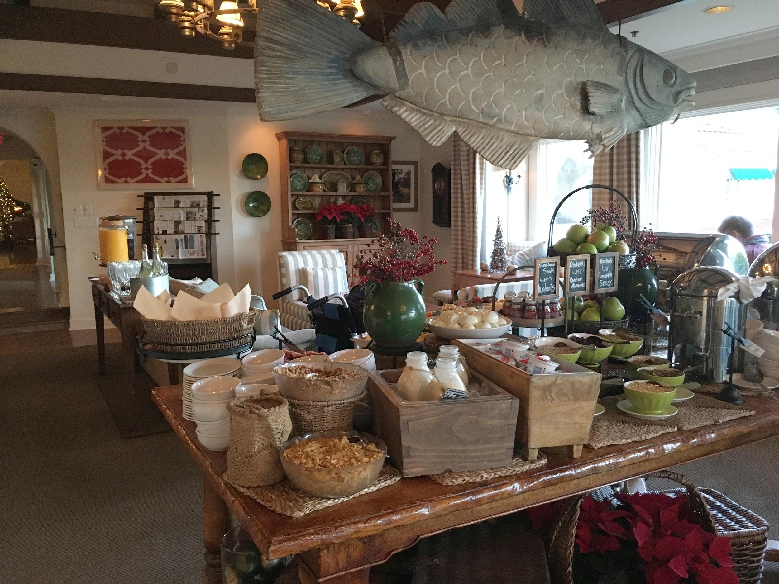 Crédit photo : Jaime Damak Le succulent déjeuner buffet à La Playa Carmel-by-the-Sea