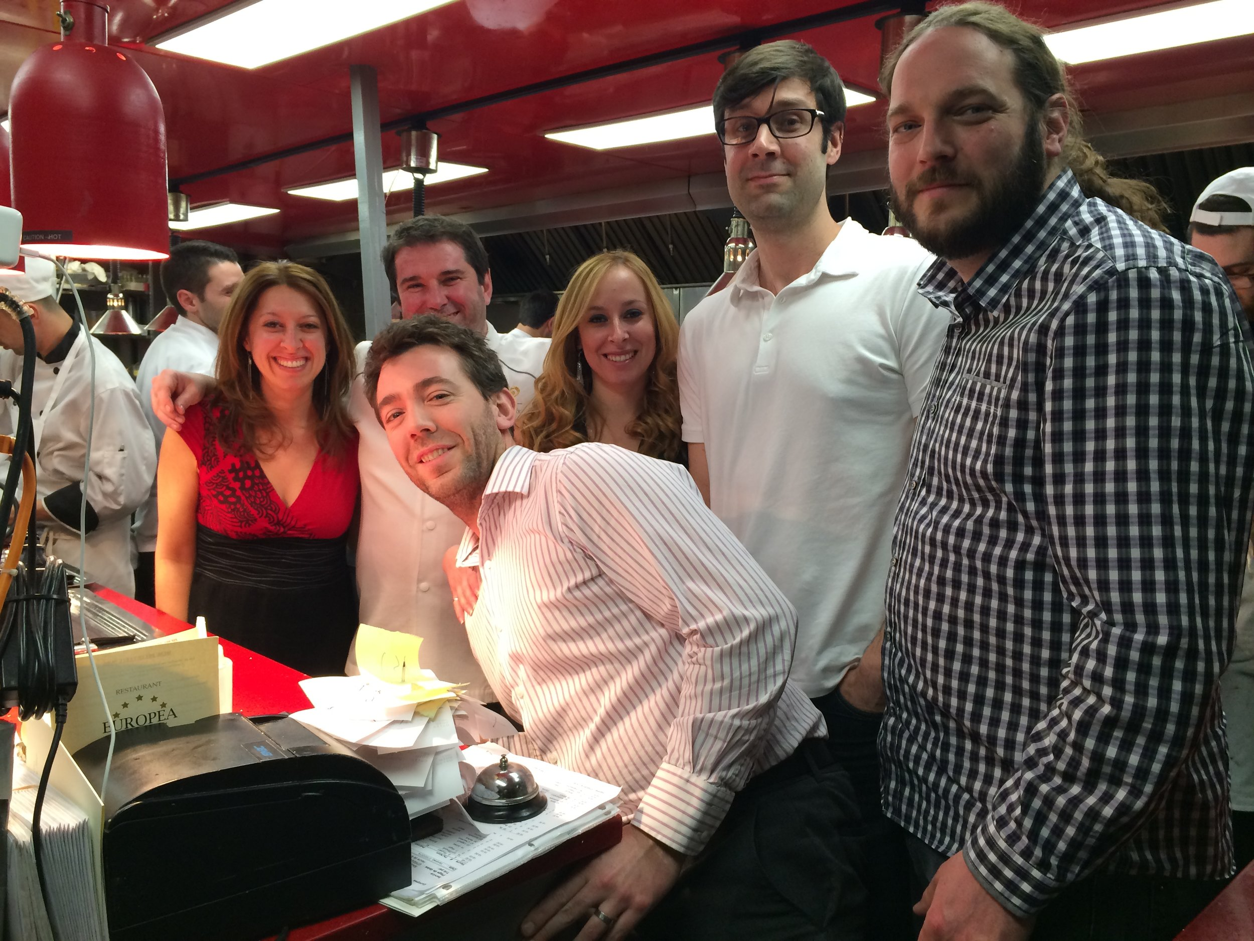 Crédit photo : Isabelle George qui a visité les « coulisses » du restaurant Europea