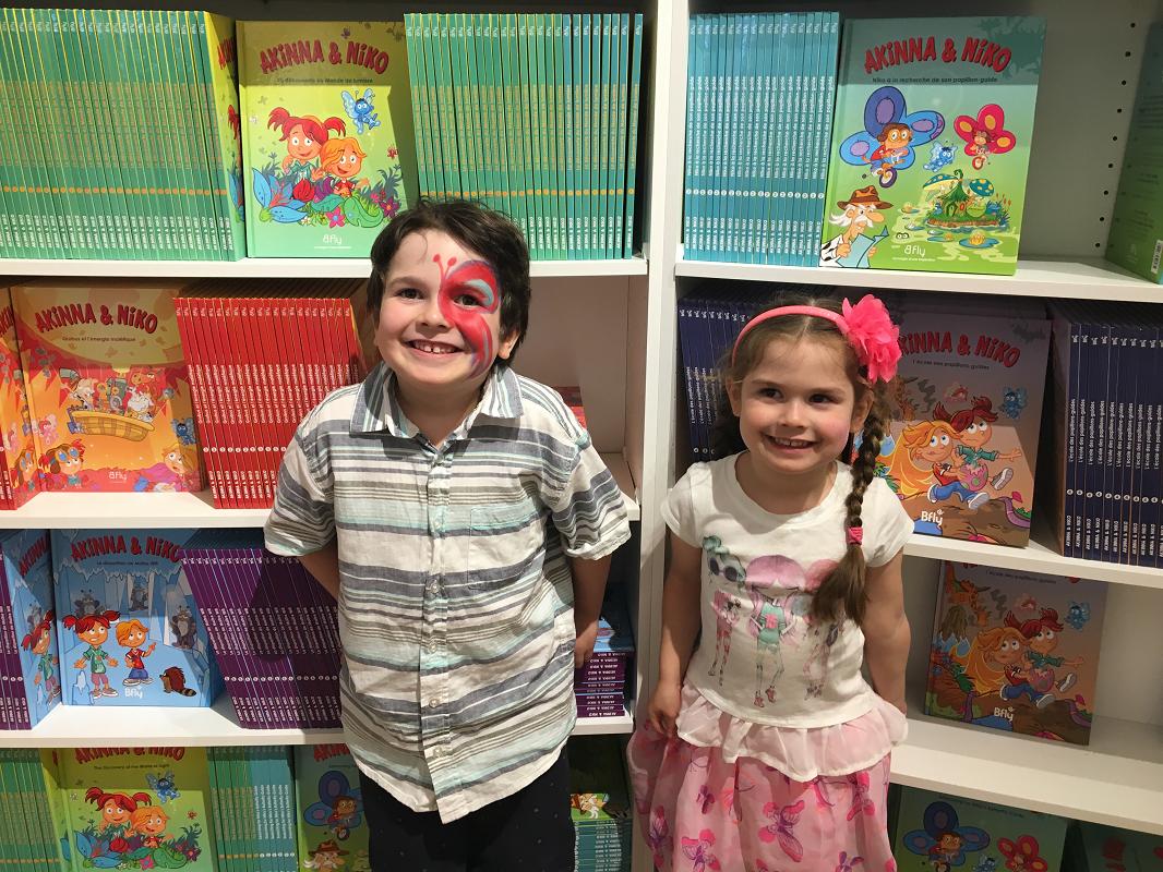 Il faut dire qu'à la base,  BFly  est tiré d'une série de livres pour enfants.