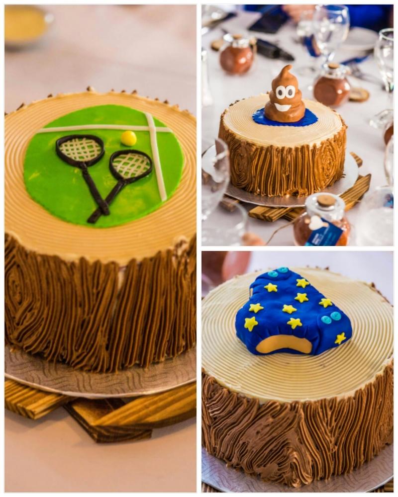 Des gâteaux bien spéciaux!  photo : Remi St-Onge