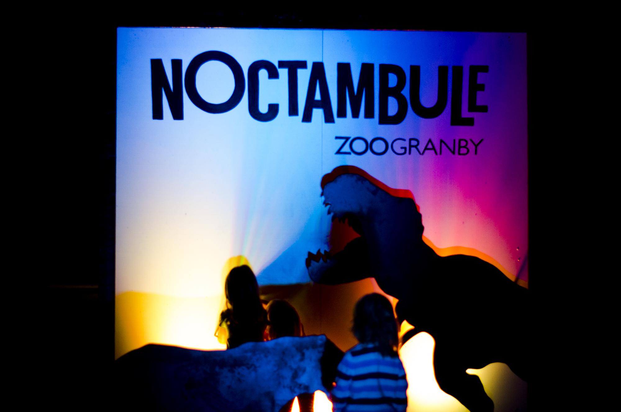 Le Noctambule : le nouveau parcours interactif en soirée du Zoo de Granby  Photos :  Catherine Galarneau