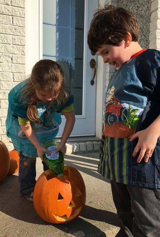 science Halloween