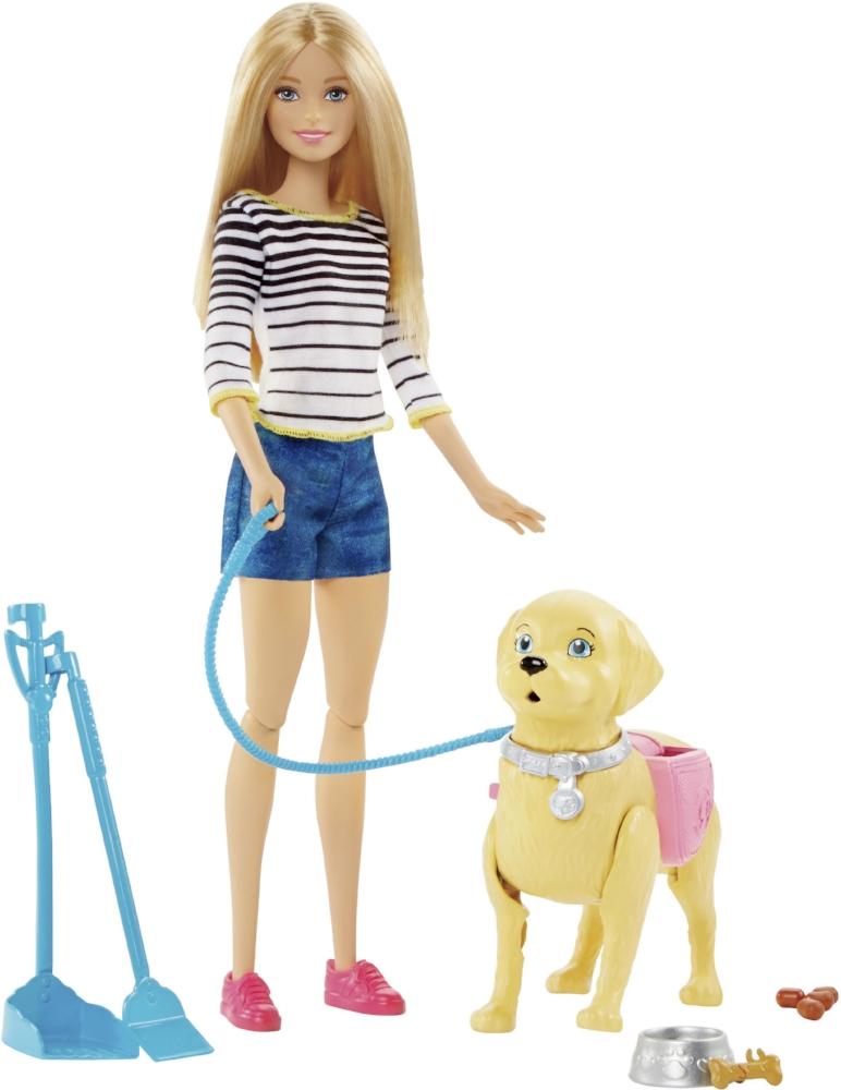 Barbie, promenade du chiot