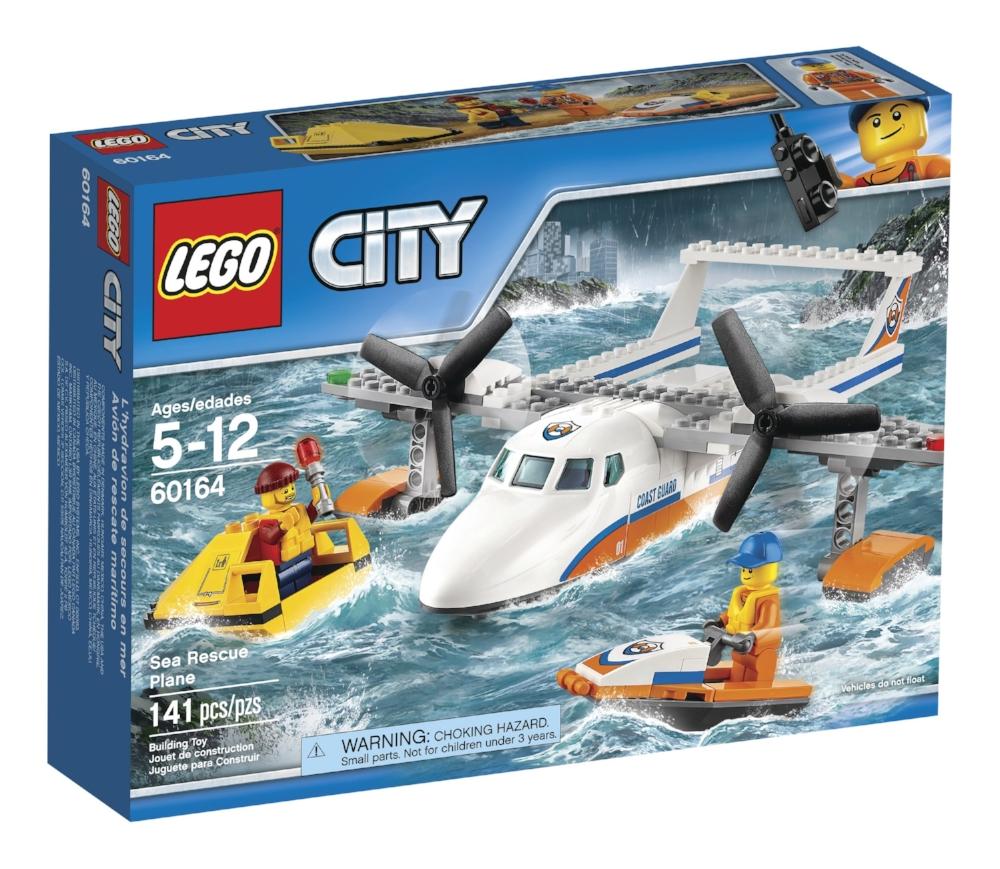 LEGO City, Avion de sauvetage en mer , paq. 141