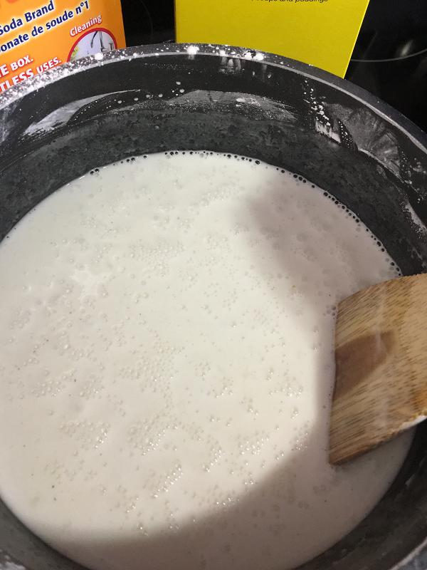 cuisson d'argile blanche