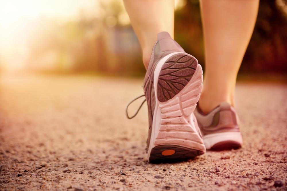 marcher, défi 10000 pas, objectif, santé, ensemble