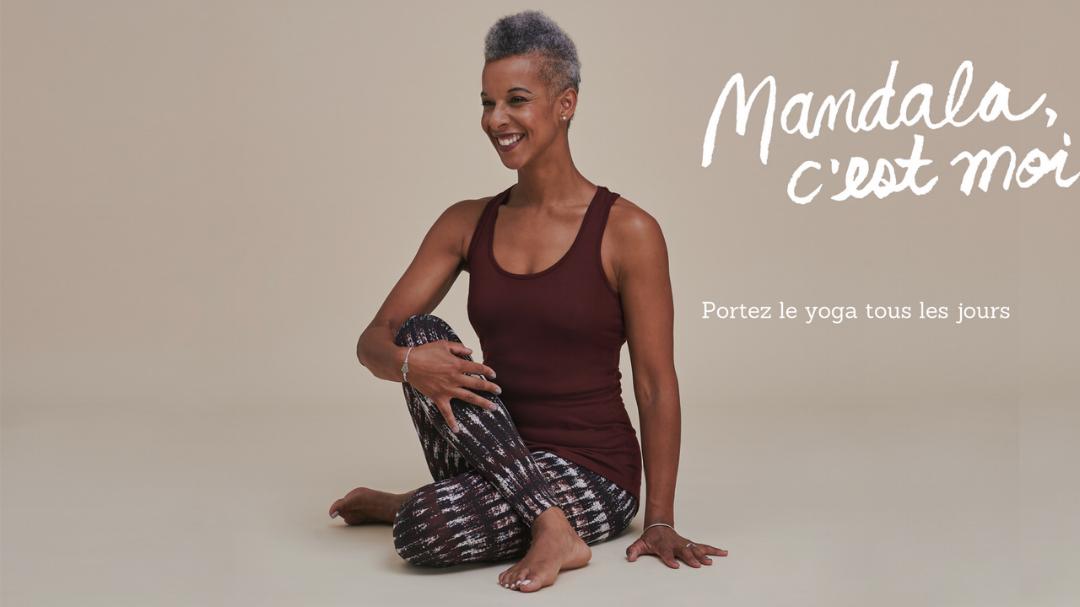 vêtements mandala, vêtements de yoga, confort et style
