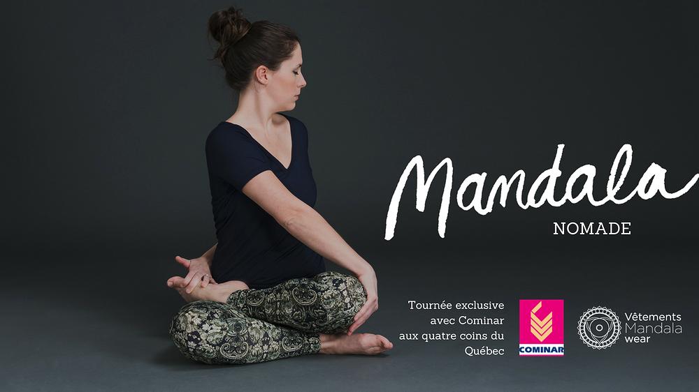 Mandala Nomade, en tournée, vêtements Mandala